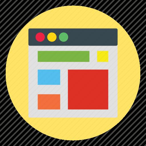 design, template, ui, website, windows icon