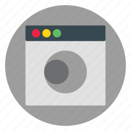 circle, template, ui, website icon