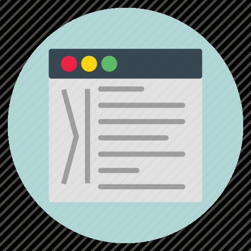 dropcaps, template, ui, website icon