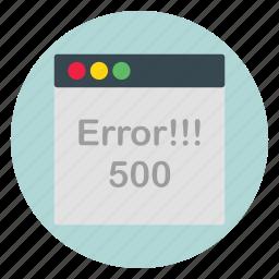 error, template, ui, website icon