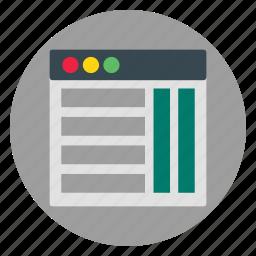 template, web, website icon