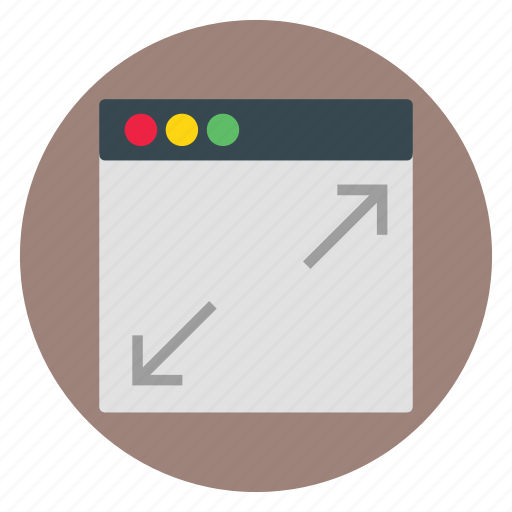 design, template, web, website, zoomin icon