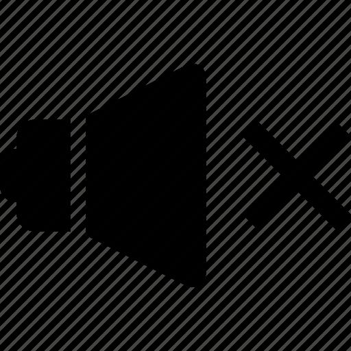 Mute, no sound, volume icon - Download on Iconfinder