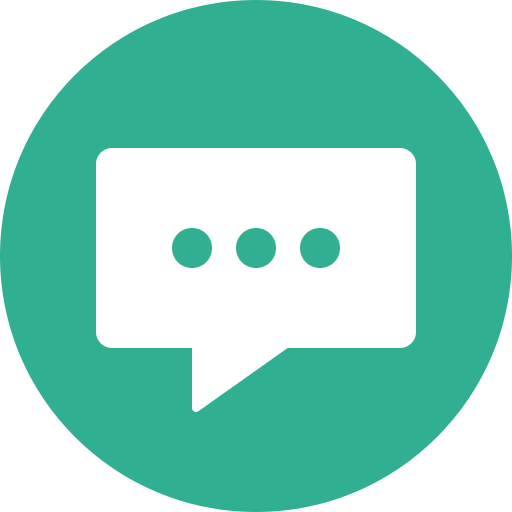chat, chatting, circle, comment, message, messaging icon