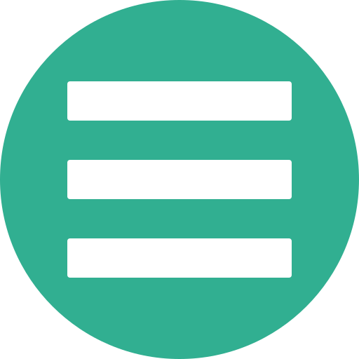 Green, hamburger, list, menu, navigation, stack icon - Free download