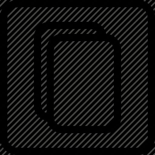 clipboard, copy, paste, report icon