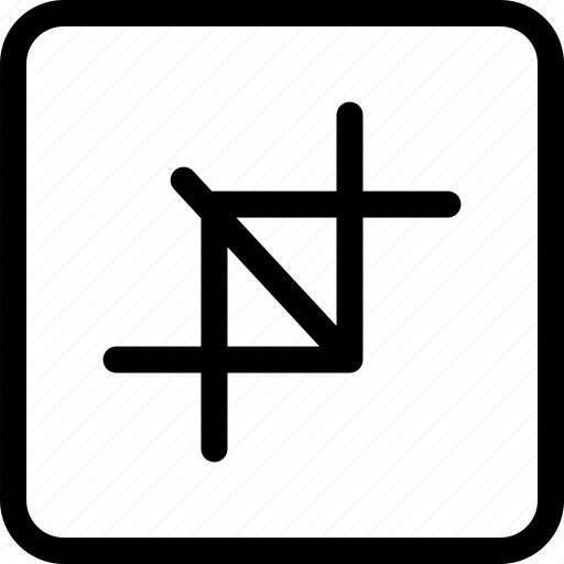 crop, crop photo, design, graphic design, resize icon