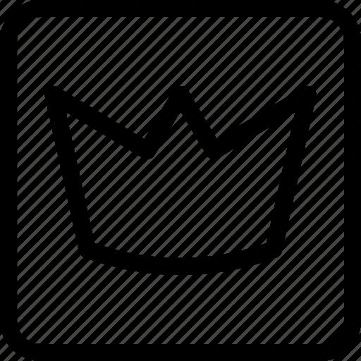 crown, king, kingdom, luxury, queen, royal, throne icon