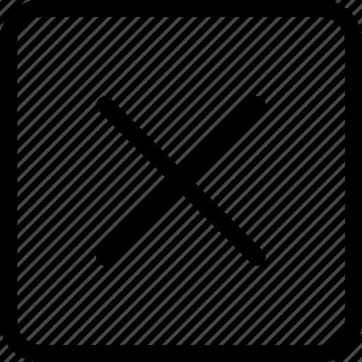alert, delete, error, hide, remove icon