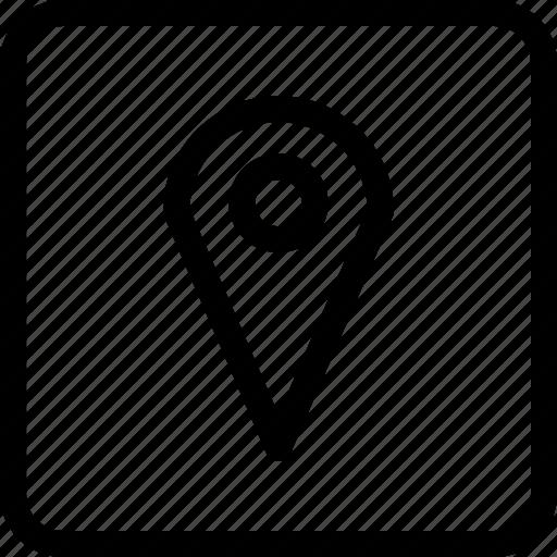 geolocation, gps, location, location marker icon
