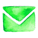 address, contact, letter, mail icon