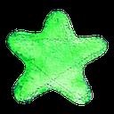 best, favorite, star, watercolour