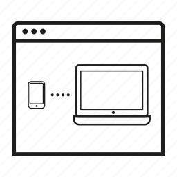 application, grid, gui, ui, ux, web, wireframe icon