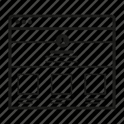 application, grid2, gui, ui, ux, web, wireframe icon
