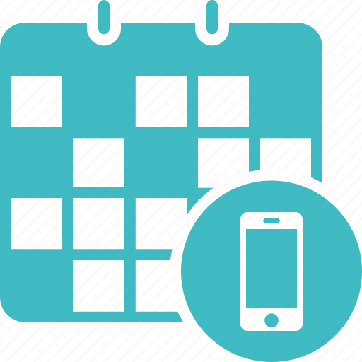 appointment, calendar, mobile appointment, on call, schedule icon