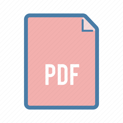 document, extension, file, format, page, pdf icon