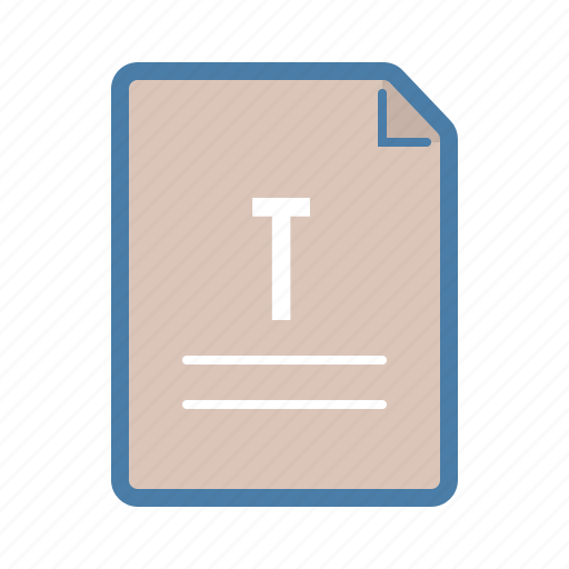 article, blog, document, file, note, page, text icon