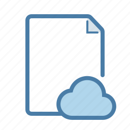 cloud, cloud computing, document, file, page, share, sharing icon