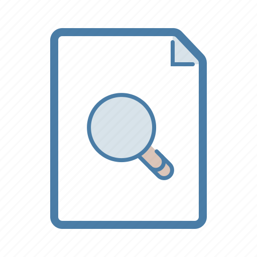 Document, file, find, search icon - Download on Iconfinder