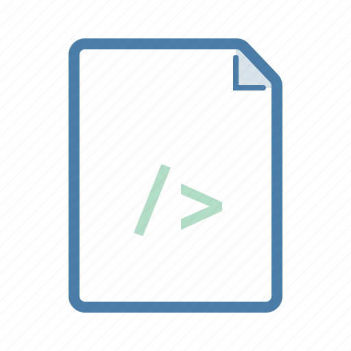 codding, code, document, file, html, page, programming icon