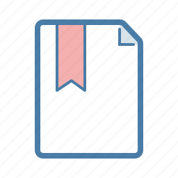 bookmark, document, fav, favourite, file, guardar, page, save icon