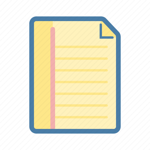 document, file, note, notepad, notes, remind, text icon