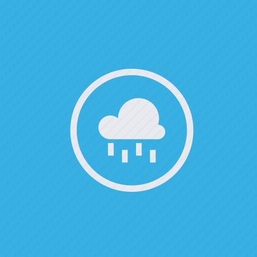 cloud, meteorology, rain, weather icon