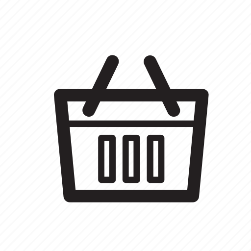 basket, cart, e-commerce, shop, shopping, store, webshop icon