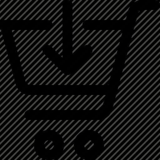 basket, buy, cart, sell, shop, shopping icon