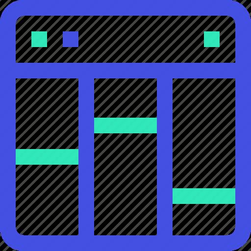 layout, web icon