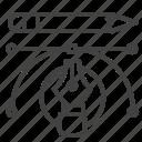curve, edit, pencil, vector design icon