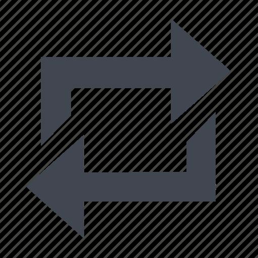 arrow, bin, circle, follow, recycle, target icon