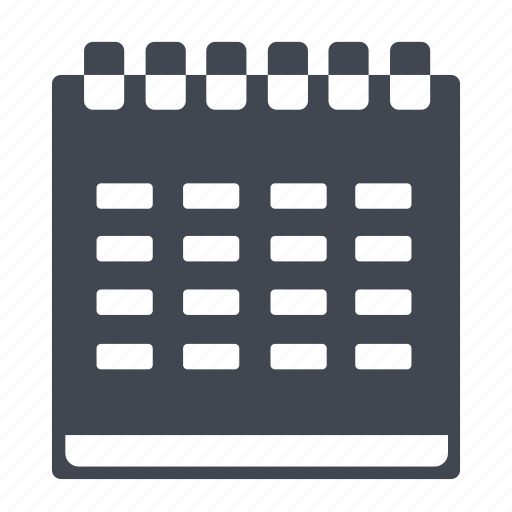 calendar, date, month, reminder, time, year icon