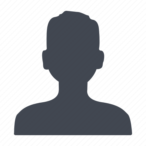 account, human, male, man, people, person, profile, user, visitor icon
