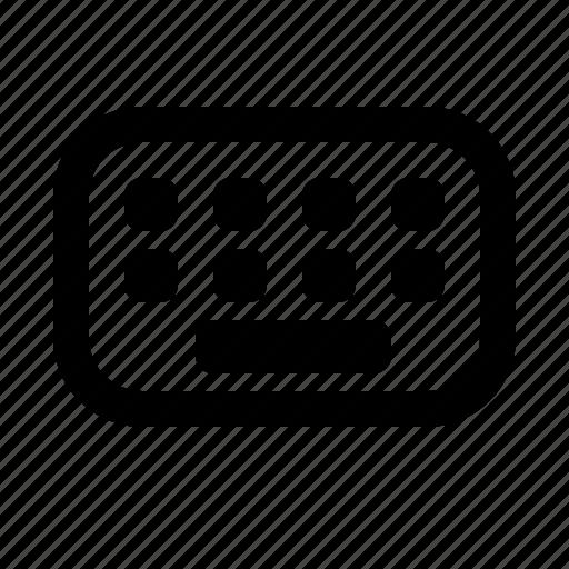 keyboard, type, website icon