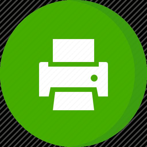 device, hardware, nkjet printer, print, printer icon