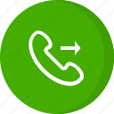 call, calling, contact, dialed call, incoming call, outgoing call, phone call icon