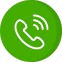 call, calling, incoming call, phone call, received call, telephone call icon