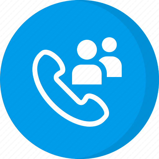 group call, meeting, user call icon