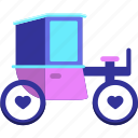 brougham, carriage, cart, vehicle icon