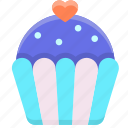 cake, cup, cupcake, food, sweet icon