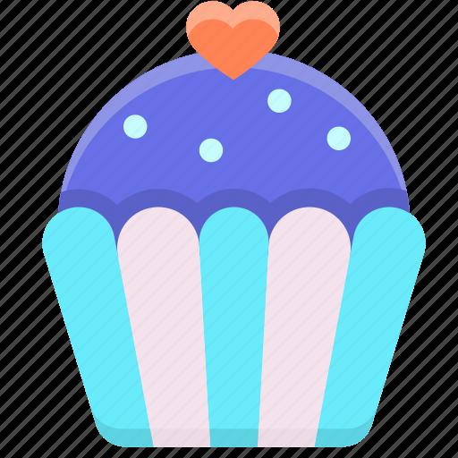 cake, cup, cupcake, food, sweet icon