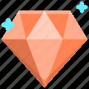 diamond, jewel, jewelry icon