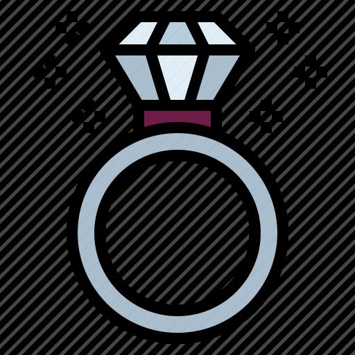 Diamond, jewel, ring, wedding icon - Download on Iconfinder