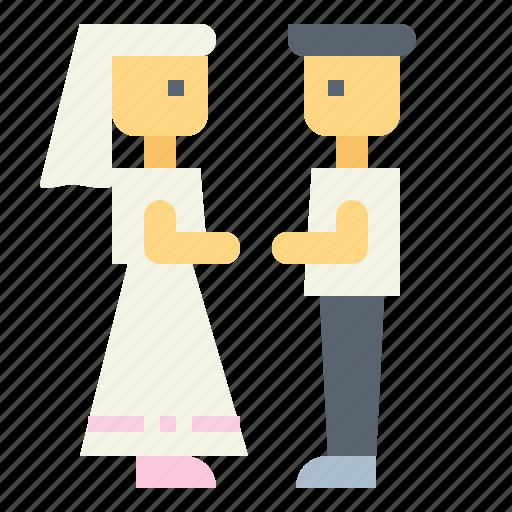 groom, people, romantic, wedding icon