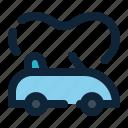 automotive, car, transport, vehicle, wedding