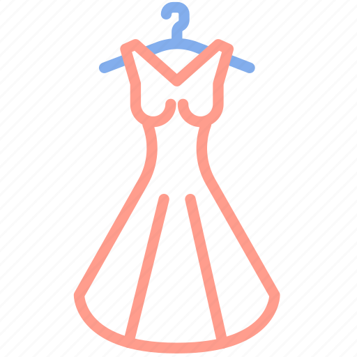 bride, clothes, clothing, dress, fashion, wedding, woman icon