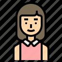 bridesmaid, wedding icon