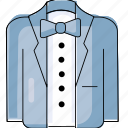 bride, coat, marriage, wedding, wedding suits icon