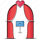 love, marriage, romance, wedding icon
